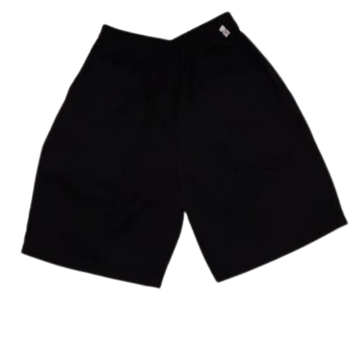 Full Elastic Shorts ( Long ) - Black