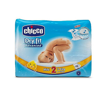 Diapers - Dryfit Advanced # 2 (3-6kg) 27 psc