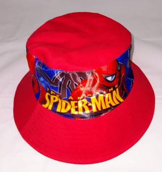 Round  HAT - Spiderman