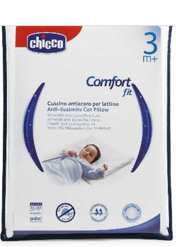 Anti-dustmite cot pillow  (3m+)