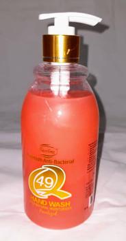 Q49 Premium Anti-Bacterial Hand Wash - 500ml