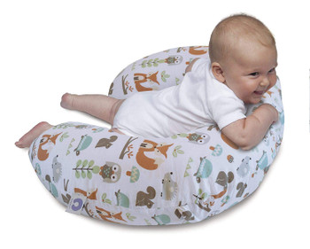 Boppy feeding and infant support pillow mordern woodland