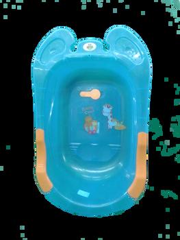Baby bath tub bule ( baby show )