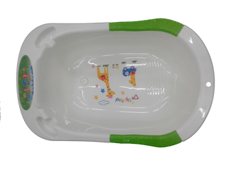 baby bath tub cream unisex with music