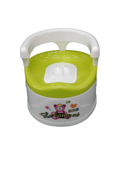 """Baby potty - """"Green bear"""""""
