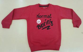 Sweatshirt  - Normal is Boring