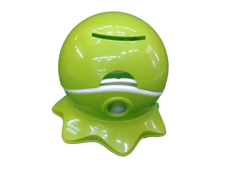 Baby potty GREEN ( potty with toilet roll holder )