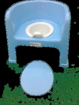 Baby potty blue