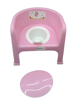 Baby potty : pink :