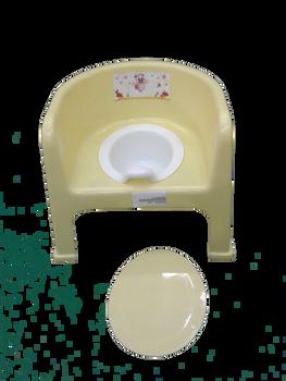 Baby potty : yellow: