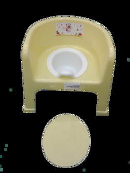 Baby potty  : yellow :