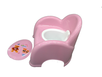 Baby potty -: pink :