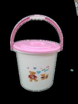 Baby bath  Bucket pink ( 10 letre )