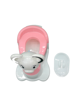 baby potty : pink :-