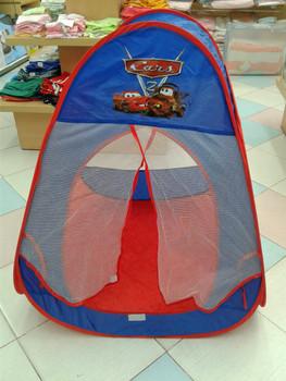 Tent House  - Cars   ( size = 80x80x90cm )