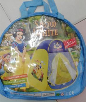 Tent House  - Snow White    ( size = 80x80x90cm )