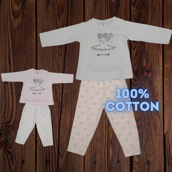 "100% cotton Infant Set "" Angle """