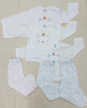 """100% cotton Infant Set """" STP """""""
