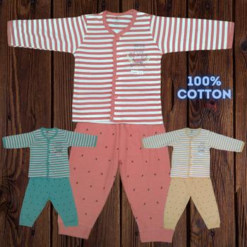 "100% cotton Infant Set "" Hootiful  """