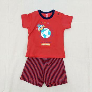 """100% cotton Infant Set """" World  """""""