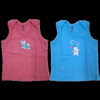 """100% cotton Infant Vest """"  Multicolor  """""""