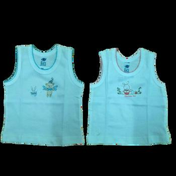 """100% cotton Infant Vest """" White  """""""