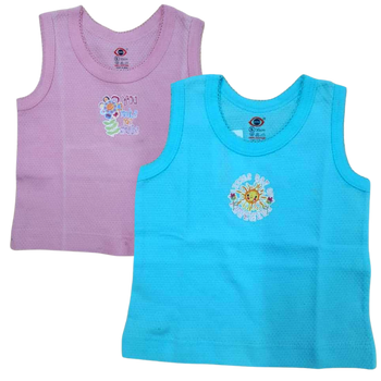 """100% cotton Infant Vest """" Color   """""""