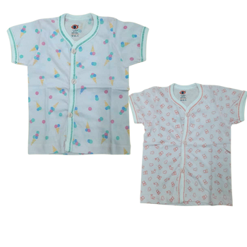 """100% cotton Infant Vest """" Short Sleeve  """""""