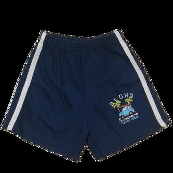 "100% cotton Infant Shorts  "" Aloha  """