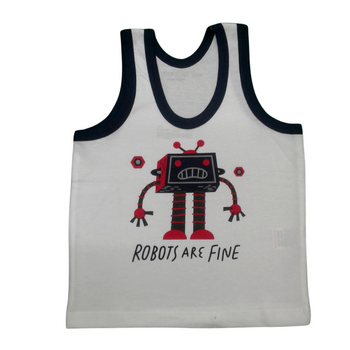 """VEST  """"Robots are fine"""""""