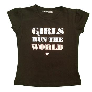 "Girls  TOP   "" GIRLS RUN THE WORLD """