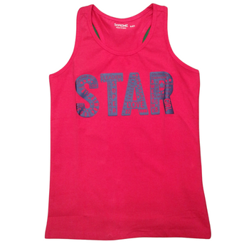"Girls  TOP Sleeveless  ""STAR"""