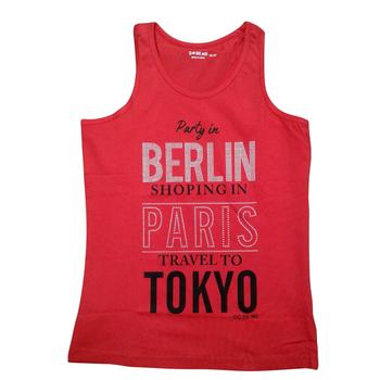 """Girls  TOP Sleeveless  """"BERLIN"""""""