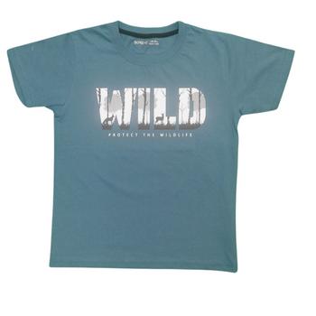 "BOYS  T-shirt    ""WILD"""