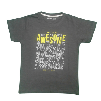 """BOYS  T-shirt    """"AWESOME"""""""