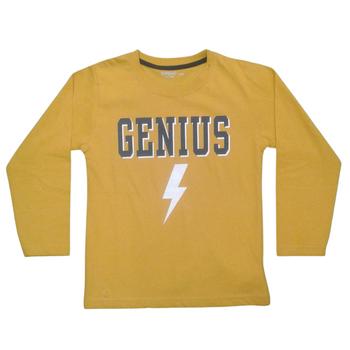 """BOYS  T-shirt  Long Sleeve    """"GENIUS"""""""