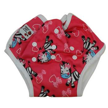 Baby Cloth Diapers One Size Adjustable Washable Reusable - HORSE