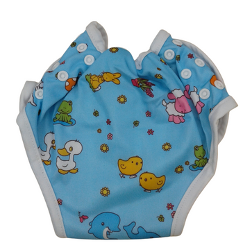 Baby Cloth Diapers One Size Adjustable Washable Reusable - DUCK