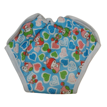 Baby Cloth Diapers One Size Adjustable Washable Reusable - HEART