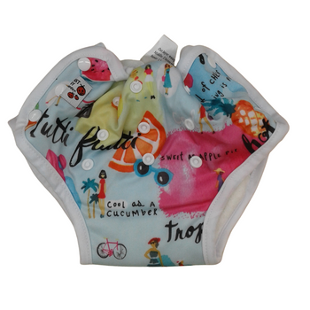 Baby Cloth Diapers One Size Adjustable Washable Reusable - PEACH