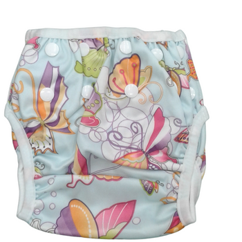 Swim Cloth Diapers Reusable Adjustable for 3m-12 Months (Pack of 2) - BEU
