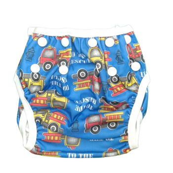 Swim Cloth Diapers Reusable Adjustable for 3m-12 Months (Pack of 2) - TEDDY