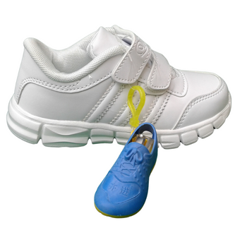 School shoe - White - RX