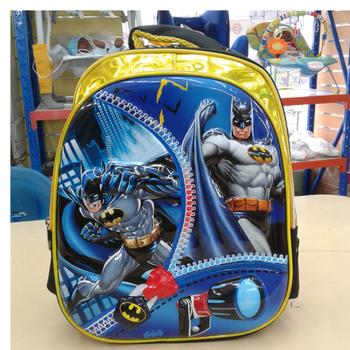 School Bag 14in-BATMAN