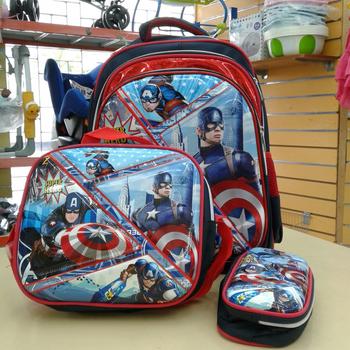 School Bag 16in-3pcs-CA