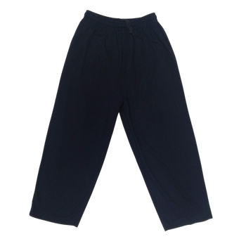 Navy Blue sports track pants w/Logo