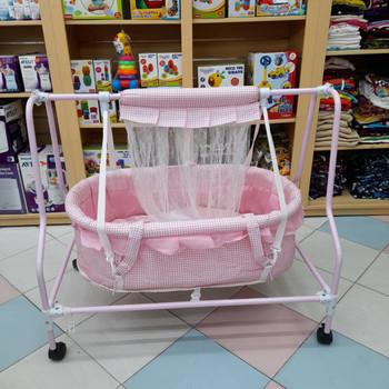 Baby Crib - pink