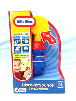 Toys - Discover sounds Screwdriver  ( 6m+ )