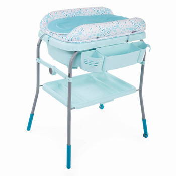 baby bath & changing table