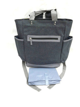 Clinic Bag   blue/grey